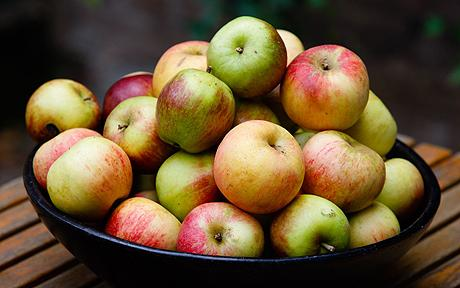 التفاح المحلي