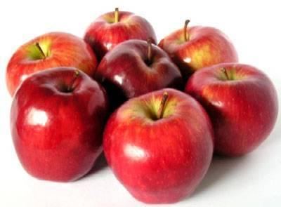 التفاح المستورد